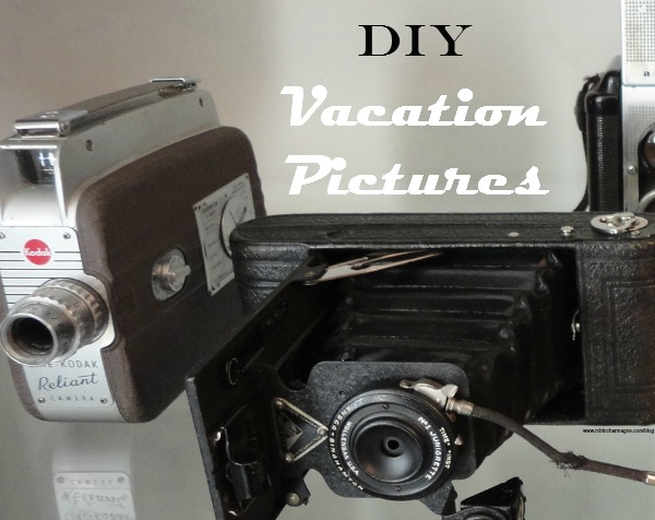 vacation pictures, DIY
