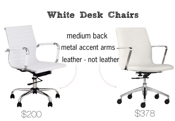 white-desk-chairs