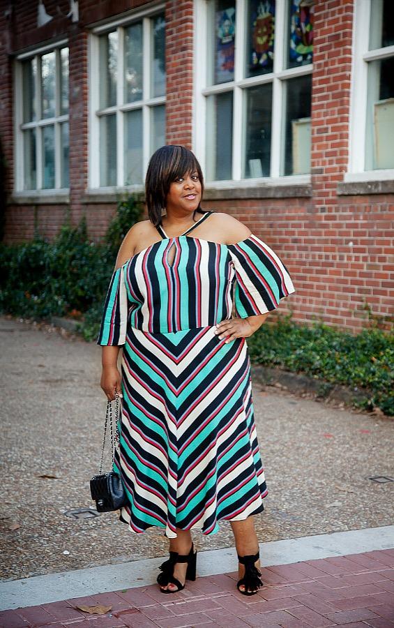 striped-dress-eloquii-on robincharmagne